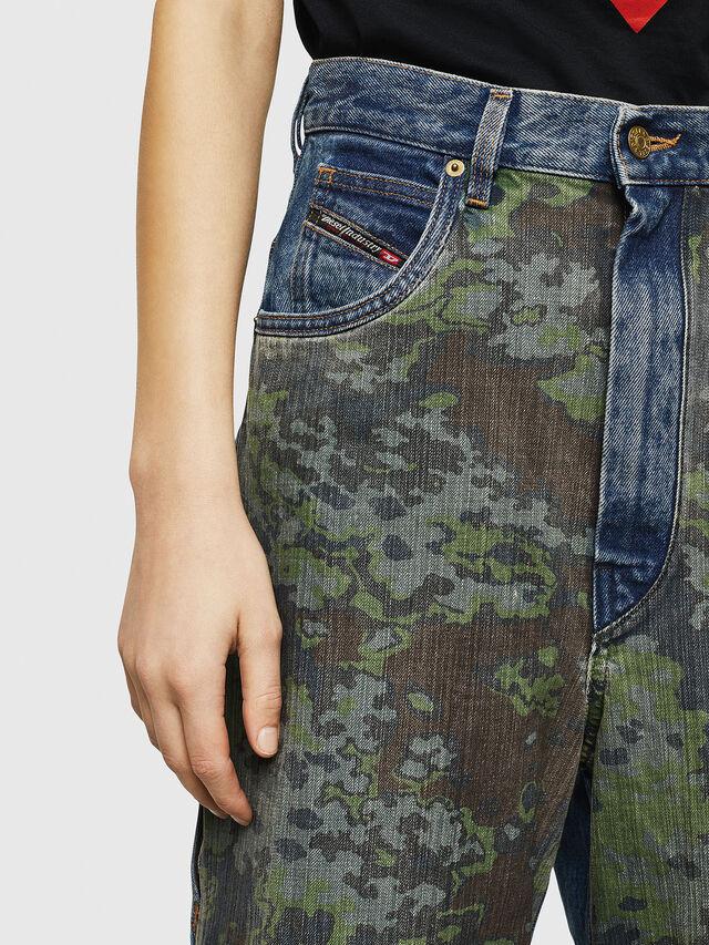 Diesel - D-Luite 0078E, Blu medio - Jeans - Image 3