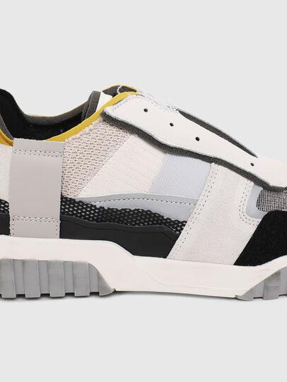 Diesel - S-RUA LOW DEC, Bianco - Sneakers - Image 4