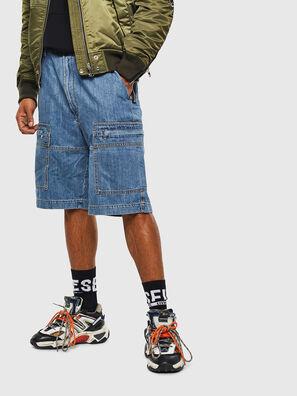D-LUKS-SHORT, Blu Chiaro - Shorts