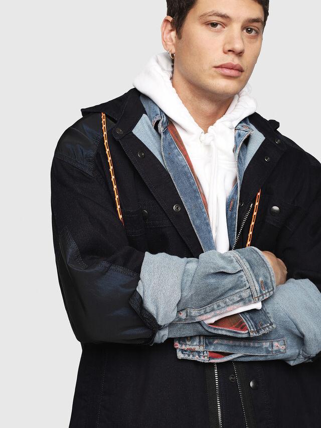 Diesel - D-SIMILAR JOGGJEANS, Blu Jeans - Giacche in denim - Image 3