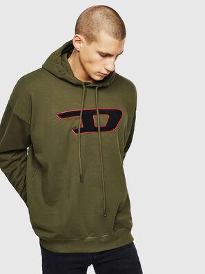 S-DIVISION-D, Verde Militare - Felpe