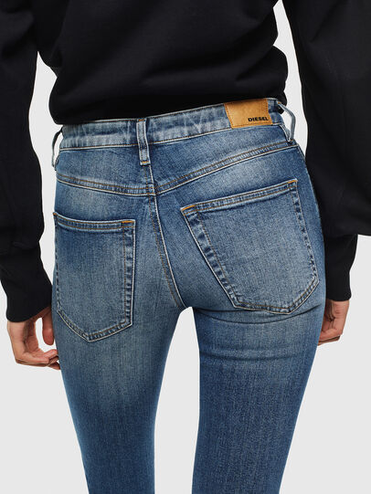 Diesel - Babhila 069JQ, Blu medio - Jeans - Image 4