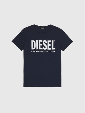 T-DIEGO-LOGO, Blu Scuro - T-Shirts