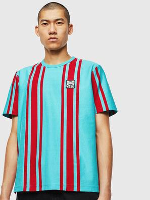 T-STRIP-J1, Blu/Rosso - T-Shirts