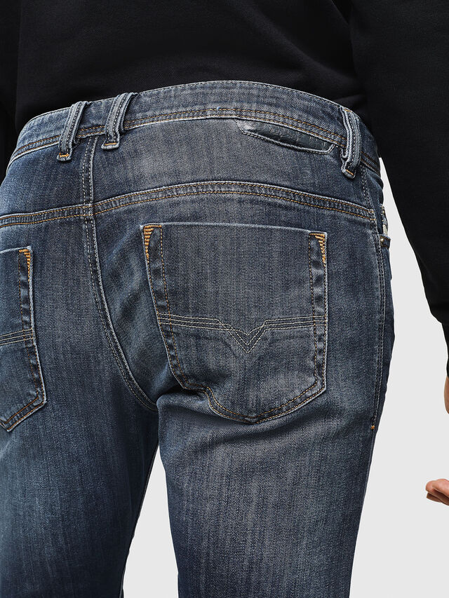 Diesel - Safado 0885K, Blu Scuro - Jeans - Image 4