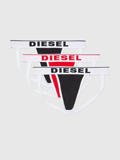 Diesel - UMBR-JOCKYTHREEPACK, Nero/Bianco - Jockstrap - Image 1