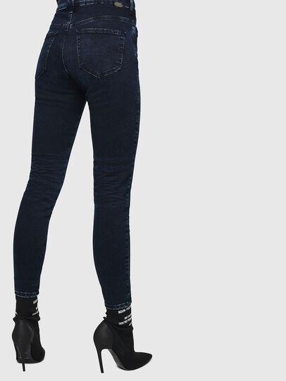 Diesel - Slandy High 082AU, Blu Scuro - Jeans - Image 2