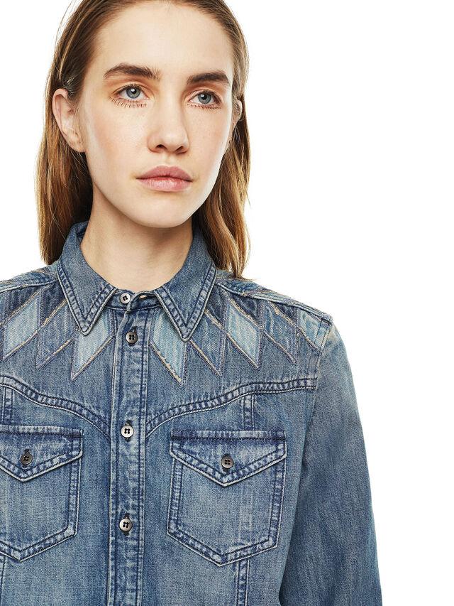 Diesel - CALLYVAN, Blu Jeans - Camicie - Image 3