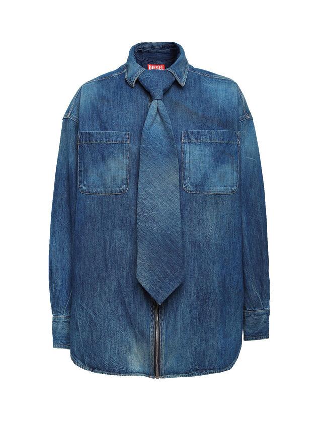 Diesel - SOTS01, Blu Jeans - Camicie - Image 1