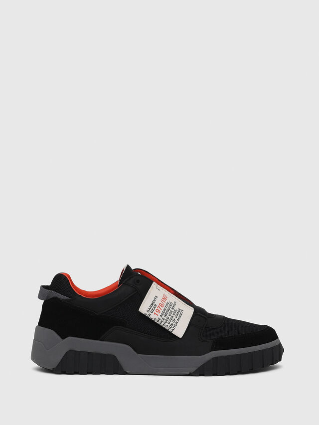 Diesel - S-LE RUA ON, Nero - Sneakers - Image 1