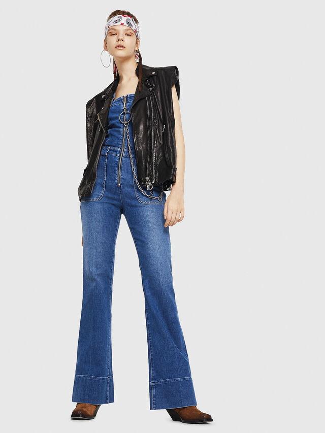 Diesel - DE-THINK, Blu Jeans - Tute e Salopette - Image 6