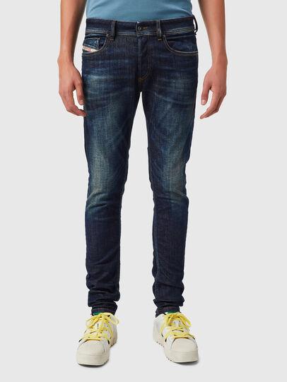 Diesel - Sleenker 09B07, Blu Scuro - Jeans - Image 1