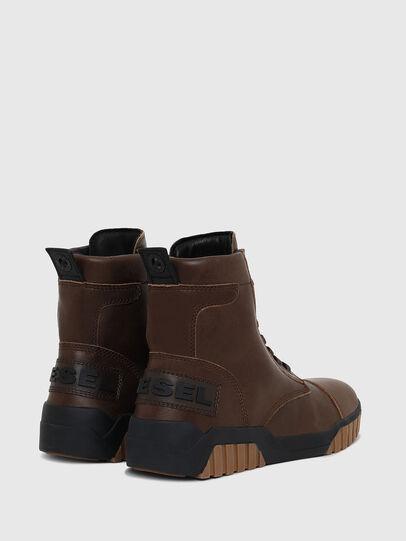 Diesel - H-RUA AM, Marrone - Sneakers - Image 3