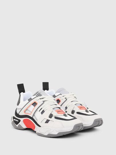 Diesel - S-KIPPER LOW TREK II, Bianco - Sneakers - Image 2