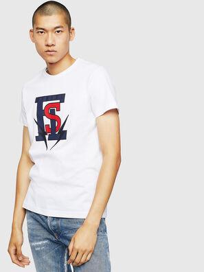 T-DIEGO-B3, Bianco - T-Shirts