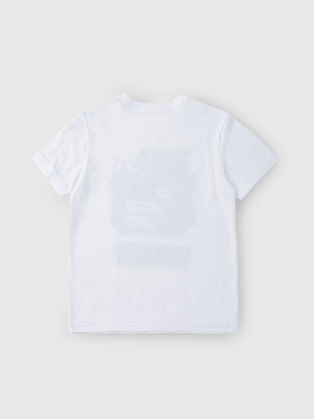 Diesel - TDIEGORH, Bianco - T-shirts e Tops - Image 2