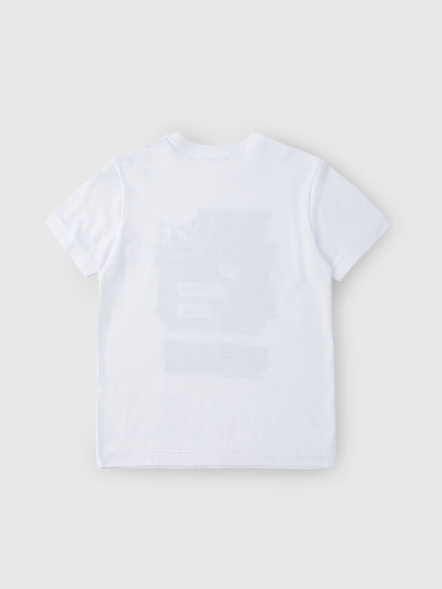 Diesel - TDIEGORH, Bianco - T-shirts e Tops - Image 2