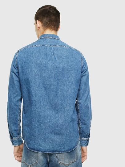 Diesel - D-BER-P, Blu Jeans - Camicie in Denim - Image 2