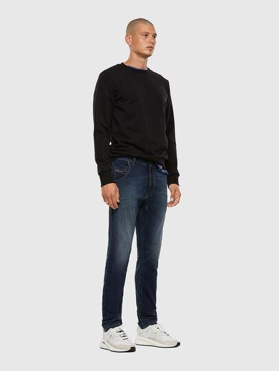 Diesel - Krooley JoggJeans 069NE, Blu Scuro - Jeans - Image 5