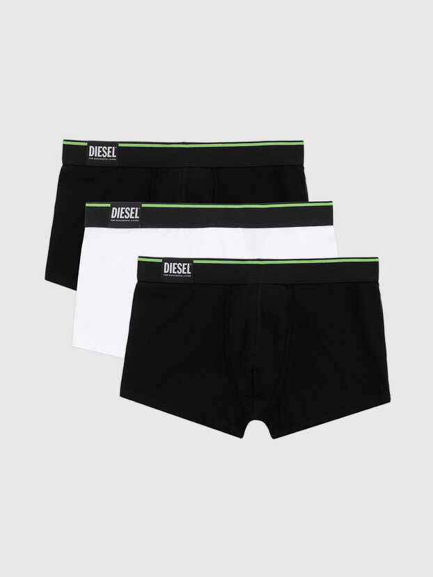 UMBX-DAMIENTHREEPACK, Nero/Bianco - Boxer stretch