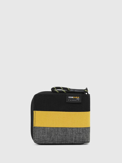 Diesel - ZIPPY HIRESH S, Nero/Giallo - Portafogli Con Zip - Image 2