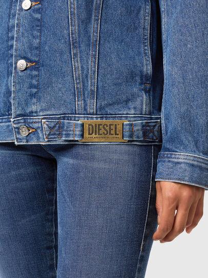 Diesel - NHILL-C1, Blu medio - Giacche in denim - Image 6