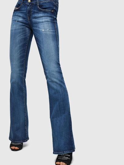 Diesel - D-Ebbey 069FY, Blu medio - Jeans - Image 3
