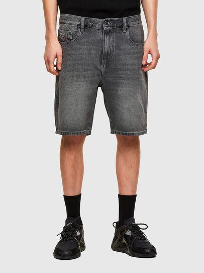 Diesel - D-STRUKT-SHORT, Nero - Shorts - Image 1