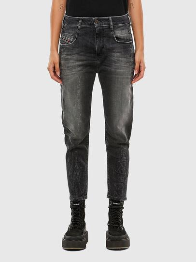 Diesel - Fayza 009IU, Nero/Grigio scuro - Jeans - Image 1
