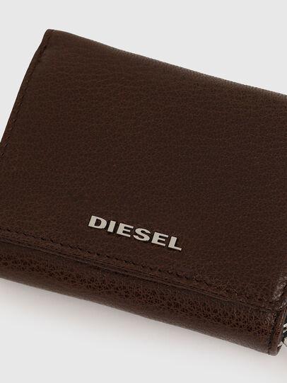 Diesel - SPEJAP, Marrone - Portafogli Piccoli - Image 5