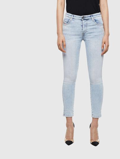 Diesel - Babhila 009AC, Blu Chiaro - Jeans - Image 1