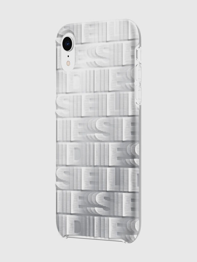 Diesel - DIESEL PRINTED CO-MOLD CASE FOR IPHONE XR, Bianco - Cover - Image 6