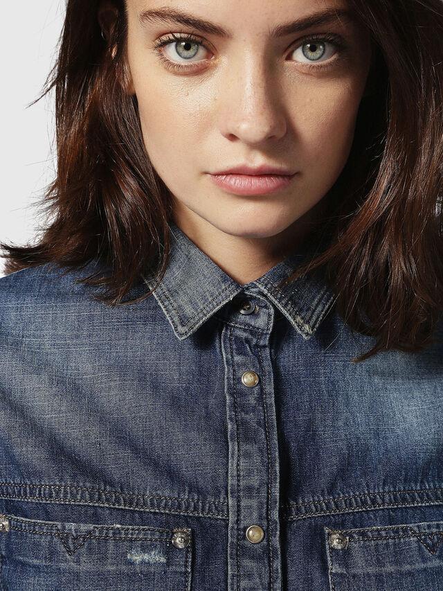 Diesel DE-KERI, Blu Jeans - Camicie in Denim - Image 4