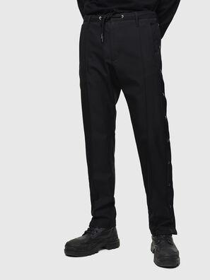 P-MARLEN, Nero - Pantaloni