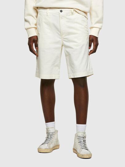 Diesel - P-HATY, Bianco - Shorts - Image 1