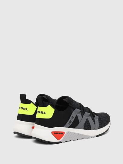 Diesel - S-KB WEB LACE, Nero/Blu - Sneakers - Image 3