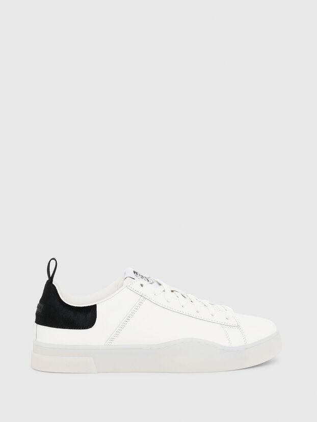 S-CLEVER LOW LACE, Bianco/Nero - Sneakers