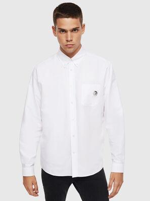 S-JAMES, Bianco - Camicie