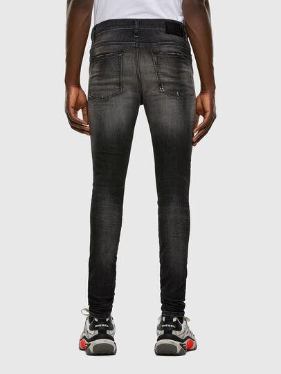 Diesel - D-Reeft JoggJeans 009FX, Nero/Grigio scuro - Jeans - Image 2