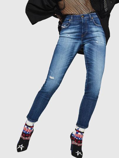 Diesel - Babhila 069FY, Blu medio - Jeans - Image 1