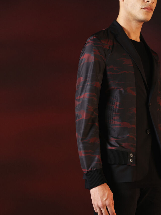 Diesel - DVL-JACKET-SPECIAL COLLECTION, Nero - Giacche - Image 3