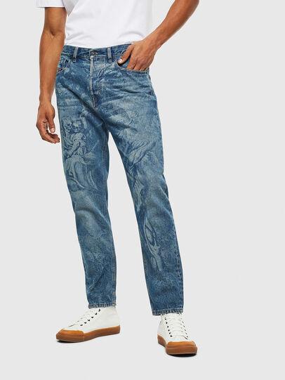 Diesel - D-Vider 0079D, Blu medio - Jeans - Image 1