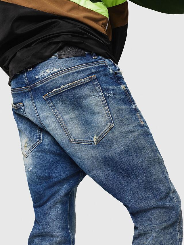 Diesel - D-Vider JoggJeans 0870Q, Blu medio - Jeans - Image 4