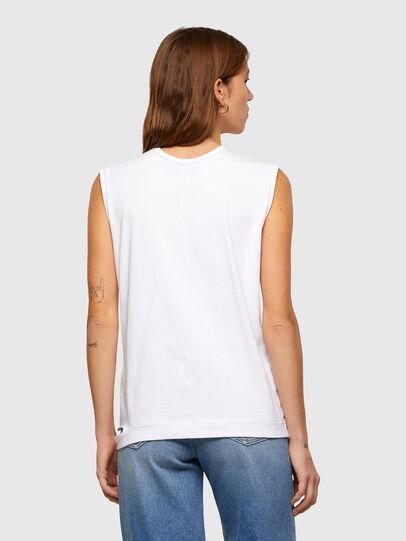 Diesel - T-BULL, Bianco - T-Shirts - Image 2