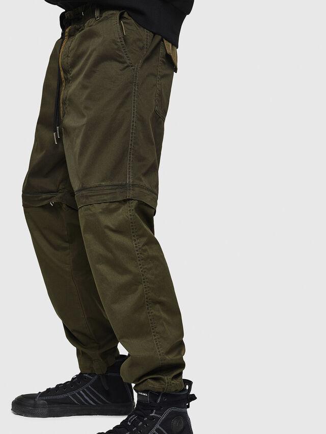 Diesel - P-CASHORT, Verde Militare - Pantaloni - Image 3