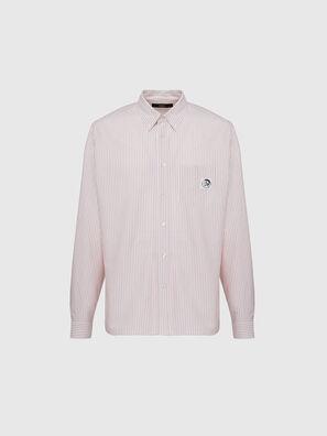 S-JAMES-A, Rosa/Bianco - Camicie