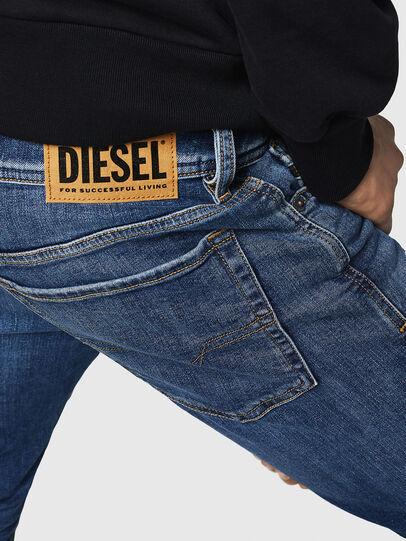 Diesel - Sleenker 069FZ, Blu medio - Jeans - Image 5