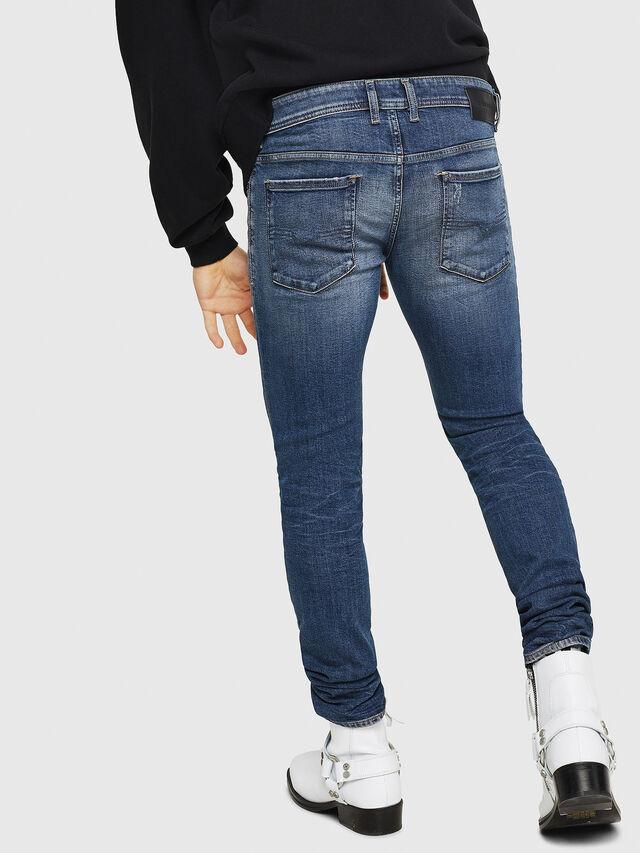 Diesel - Sleenker 069FI, Blu medio - Jeans - Image 2
