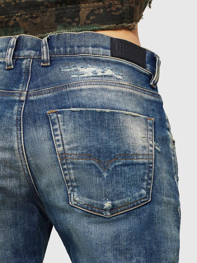 Diesel - Krailey JoggJeans 0870Q, Blu medio - Jeans - Image 5