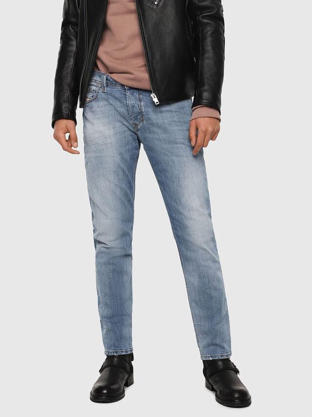Diesel - Larkee-Beex 081AL, Blu Chiaro - Jeans - Image 1